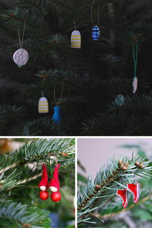 25 идей новогоднего декора за 5 минут без шитья, дрели и красок