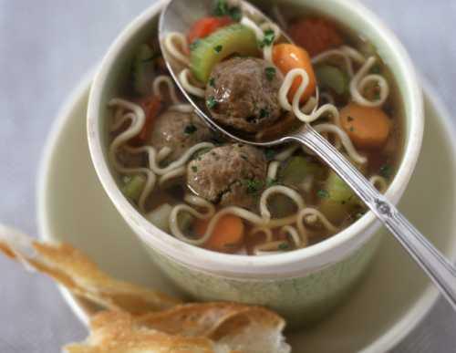 Рецепты супа с фрикадельками и рисом, секреты