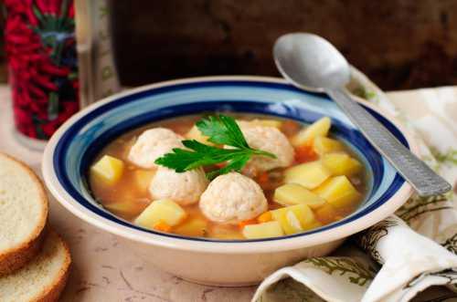 Рецепты фрикаделек с манкой для супа, секреты