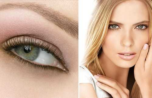 Естественный, натуральный макияж глаз
