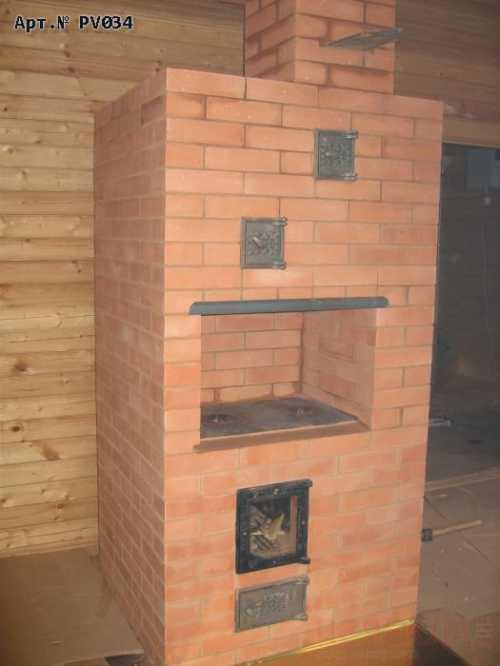 Дровяная дачная печь из Батуми