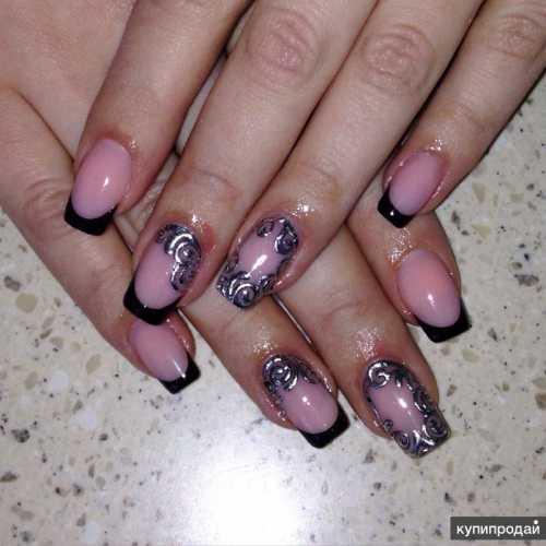 Покрытие ногтей гель