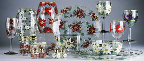 Новогодние сувениры своими руками Роспись тарелок по технике ВИТРАЖ
