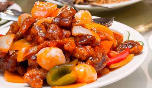 Курица в китайском соусе – просто и по