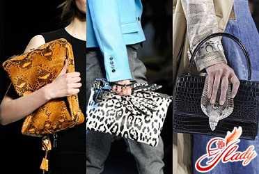 Что модно осенью 2016: сумки со змеиным принтом